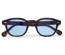Lemtosh Round-Frame Tortoiseshell Acetate Sunglasses