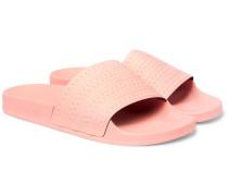 Adilette Textured-rubber Slides