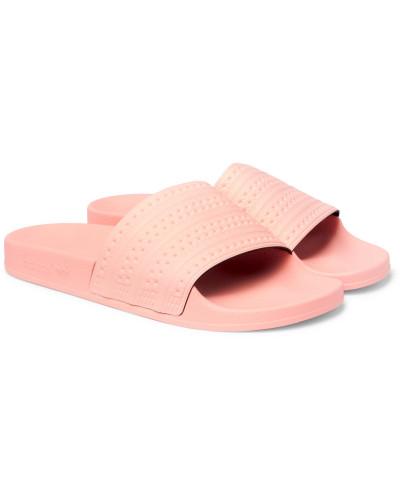 adidas Herren Adilette Textured-rubber Slides
