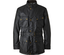 Trialmaster Belted Waxed-Cotton Jacket