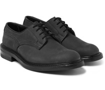 Woodstock Water-resistant Nubuck Derby Shoes