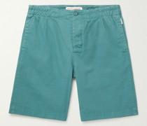 Canton Cotton-Blend Shorts