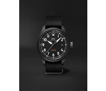 Pilot's TOP GUN Automatic 41mm Ceramic And Textile Watch, Ref. No. IW326901
