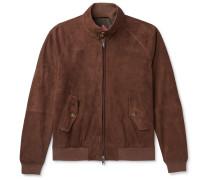 G9 Suede Harrington Jacket