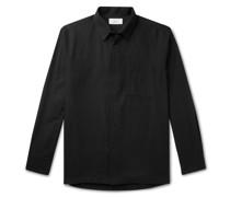 Cotton and Cashmere-Blend Shirt