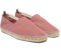 Pablo Washed-canvas Espadrilles