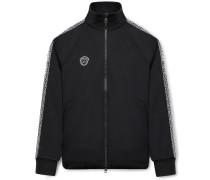 7 Moncler Fragment Logo-Appliquéd Webbing-Trimmed Jersey Track Jacket