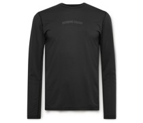 Slim-Fit Logo-Print Deltapeak 90 Mesh T-Shirt