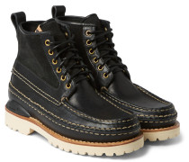 Grizzly Mid-folk Leather Boots