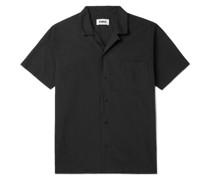 Malick Camp-Collar Organic Cotton Shirt