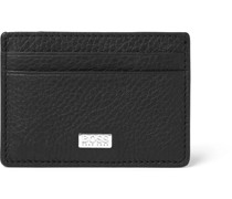 Full-Grain Leather Cardholder with Money Clip