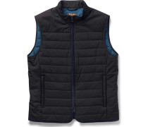 Quilted Storm System Shell Gilet