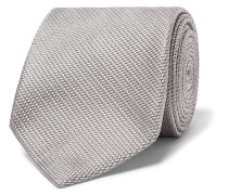 8.5cm Woven Silk Tie