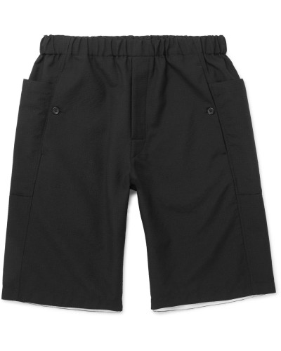 Danes Virgin Wool Drawstring Shorts