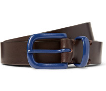 2.5cm Brown Coniston Leather Belt