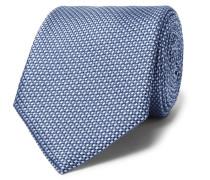 8cm Woven Silk Tie