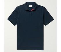 Riviera Cutaway-Collar Cotton-Piqué Polo Shirt