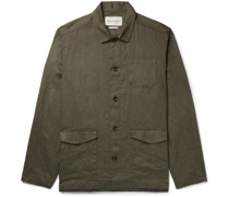 Hockney Linen Shirt Jacket