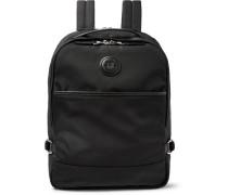 Guardsman Leather-trimmed Nylon Backpack