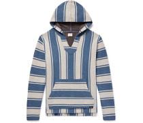 Baja Striped Cotton Hoodie
