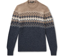 Fair Isle Baby Cashmere Sweater