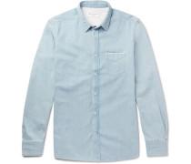 Lipp Slim-fit Selvedge Denim Shirt
