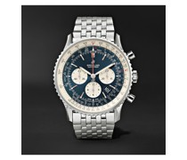 Navitimer B01 Automatic Chronograph 46mm Stainless Steel Watch, Ref. No. AB0127211C1A1