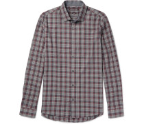 Reece Slim-fit Checked Cotton Shirt