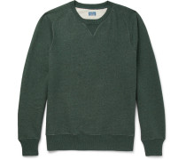 Saddle Loopback Cotton-jersey Sweatshirt