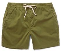 Dock Stretch-cotton Shorts