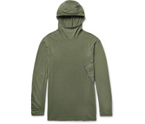 Acg Inversion Wool-blend Dri-fit Hooded Top