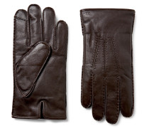 Cashmere And Thinsulate™-lined Leather Gloves