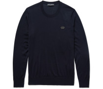Appliquéd Cashmere Sweater