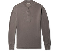 Brushed Cotton And Modal-blend Henley T-shirt
