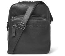 Rockstud Full-grain Leather Messenger Bag