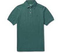 London Slim-fit Stretch-cotton Piqué Polo Shirt