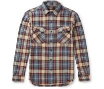 Matlock Slim-fit Checked Cotton-twill Overshirt