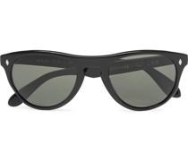 Abidjan Round-Frame Acetate Sunglasses