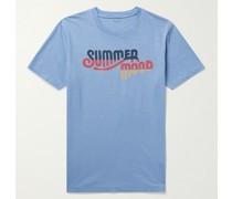 Printed Slub Cotton-Jersey T-Shirt