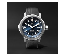 Aquatimer Expedition Jacques-Yves Cousteau Automatic 42mm Stainless Steel and Rubber Watch, Ref. No. IW329005