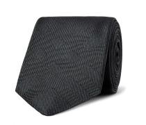 6cm Checked Silk-jacquard Tie