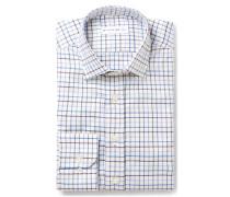 Slim-fit Checked Cotton-jacquard Shirt