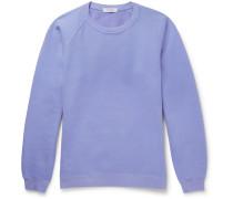 Coach Overdyed Fleece-back Cotton-jersey Sweatshirt