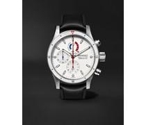Oracle Team USA Regatta Automatic Chronograph 43mm Titanium and Rubber Watch, Ref. No. OTUSA-R/WH