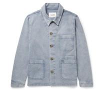 Theo Stretch-Cotton Twill Chore Jacket