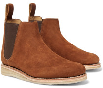 Heath Full-grain Nubuck Chelsea Boots