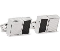 Rhodium-Plated USB Cufflinks