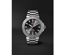 Aquis Date Relief Automatic 43.5mm Stainless Steel Watch, Ref. No. 01 733 7730 4153-07 8 24 05PEB