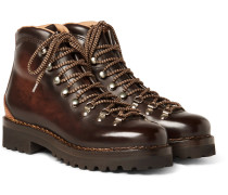 Findel Burnished-leather Boots