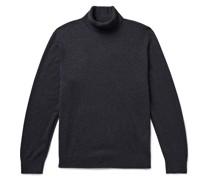 Mélange Cashmere Rollneck Sweater